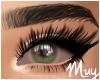 m. Irritated green eyes