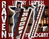 MAHOGANY LIBRARY LADDER!