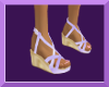 Girl's Lav Wedge Shoe