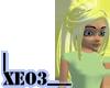 Trixie in Cornsilk Blond