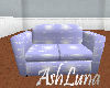 cuddle couch in blue