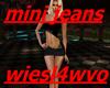mini jeans