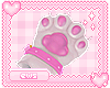 cat paw gloves!
