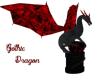 Gothic Dragon Statue