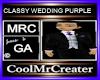 CLASSY WEDDING PURPLE