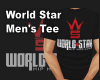 World Star Fitted Tee