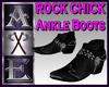 X Rock Chick Black Boots