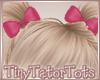 Hot Pink Piggy Bows