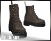 R|Grey High Boots