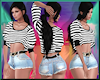 [LM]Sexy Stripes Blk/Wht