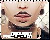 Messy Facial Hair 1