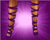 (S)Lace Shoes Purple