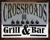 crossroads bar sign