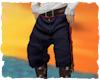 Navy pirate breeches