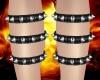 Goth Calf Spikes (R)