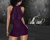 Plum Club Dress -RL/TXM
