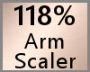 Arm Scaler 118% F A