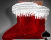 Cat~Naughty Santa Boots