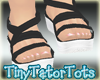 Summer Sandals Black
