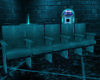 Blue Row of Seats