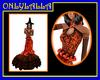 Halloween Roses Dress