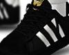 Kid Black Sneakers