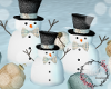 Christmas Snowman deco