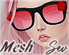 *S Rose Glasses
