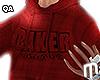 Baker Hoodie - Red