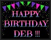 DEB birthday balloons