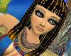 Beaded Egyptian Wig