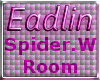 Candy Corn Web Room