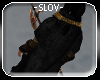 -slov- black gold cloak