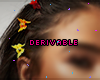 90's Butterfly Hairclips