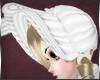 +White Bunny Bonnet+