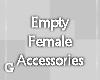 G l Empty Female DEV