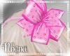 & Polka Pink Bows