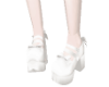 White lollita shoes