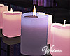 Our Neon Bedroom Candles