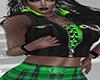 Green Blk Top