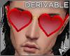~AK~ Heart Glasses