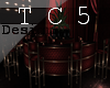Casino round bar