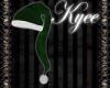 Green Velvet Santa Hat