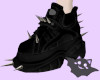 ☽ Spiked Bisons Black