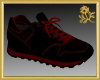 Black/Red Runners