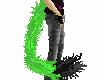~mkk~ lime green cattail