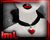lmL Red Heart Collar