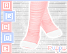 . Cute Pink Socks
