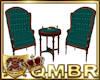 QMBR TBRD Vintage Chairs