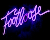 Footloose Neon sign